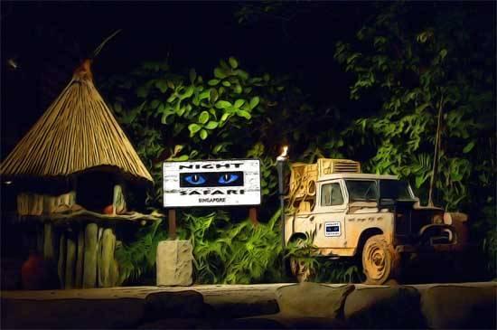 Tham quan thú đêm tại RIVER SAFARI