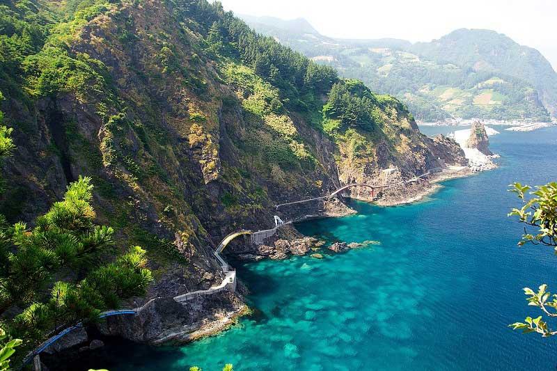 Những hòn đảo tuyệt đẹp trên thế giới - Đảo Ulleungdo