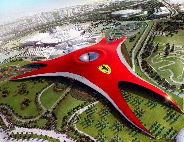 Du lịch Dubai - công viên Ferrari