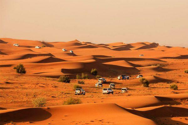 Du lịch Dubai - sa mạc Safari