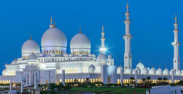 Du lịch Dubai - thánh đường Sheikh Zayed