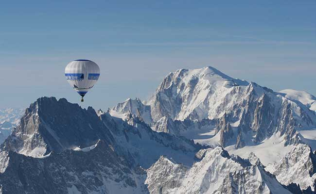 du lịch Pháp - ngọn núi Mont Blanc