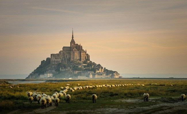 du lịch Pháp - Mont Saint-Michel