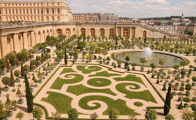 du lịch Pháp - cung điện Versailles