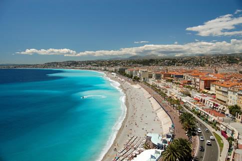 du lịch Pháp - thành phố Nice