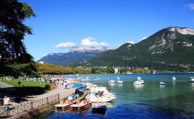 du lịch Pháp - Annecy, dãy núi Alps