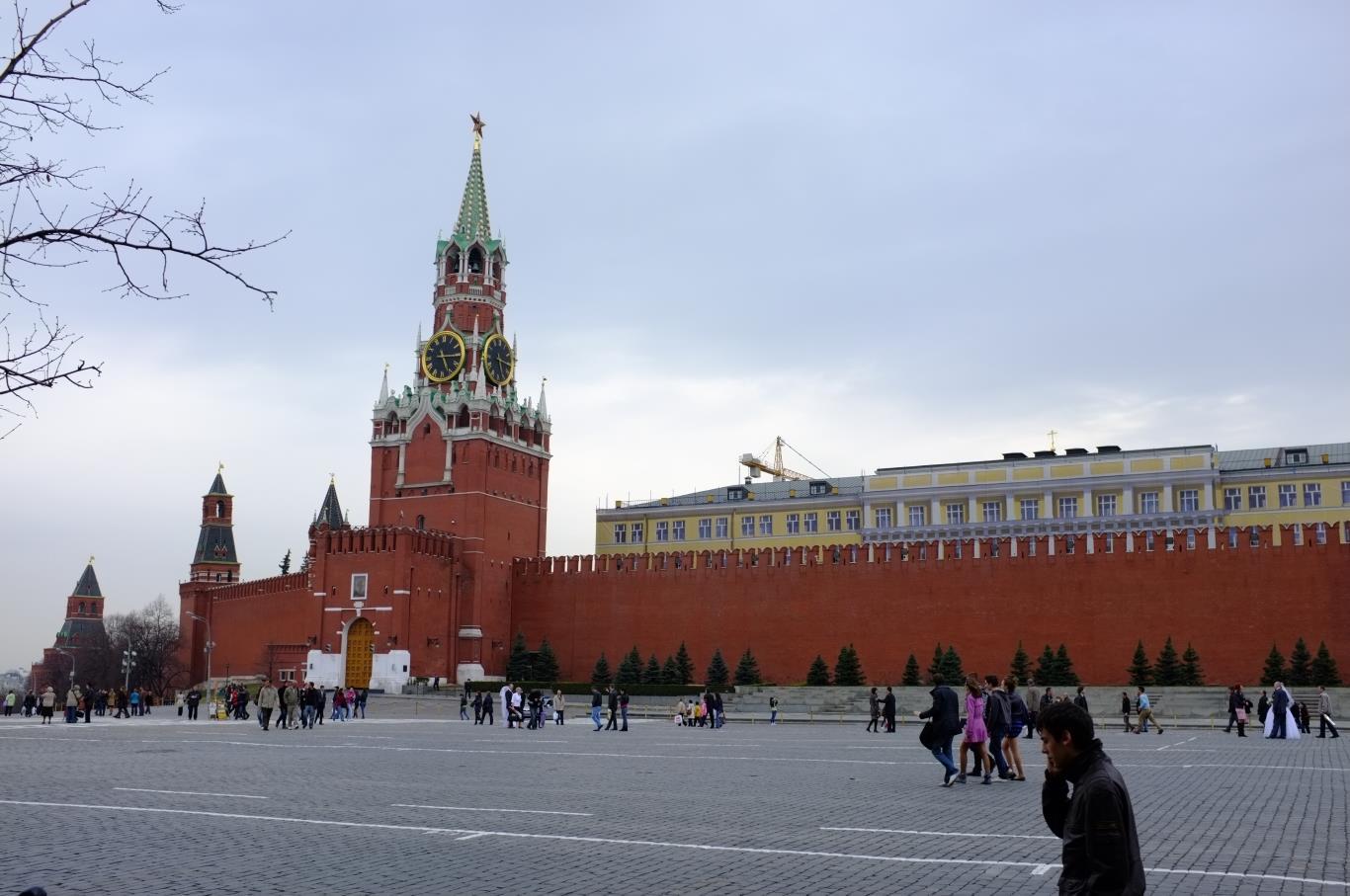 tham quan Russia - Quảng trường Đỏ
