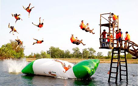 Trò chơi cảm giác mạnh dưới nước