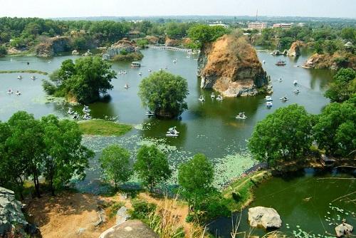 10 địa điểm du lịch hấp dẫn gần Sài Gòn - Khu du lịch Bửu Long