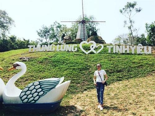 Thung lũng tình yêu ở khu du lịch Bửu Long - Đồng Nai