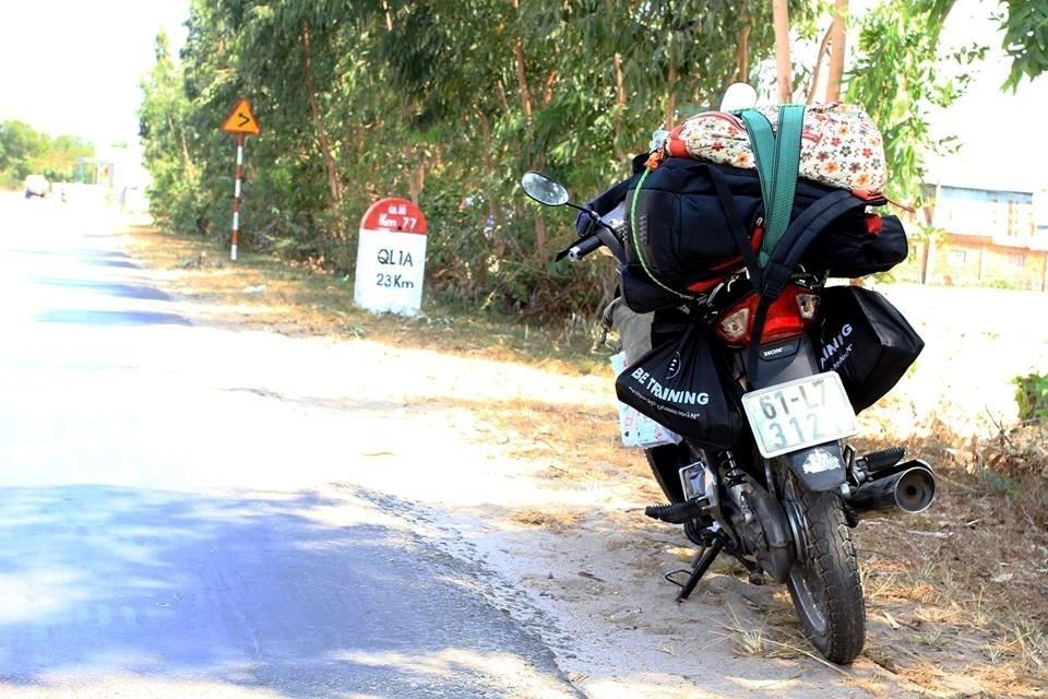 Cung đường biển cũng bắt đầu bằng cách đi qua Biên Hòa, Trảng Bom rồi xuyên qua Long Khánh