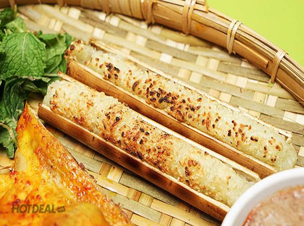 cơm lam nướng - đi sapa ăn gì