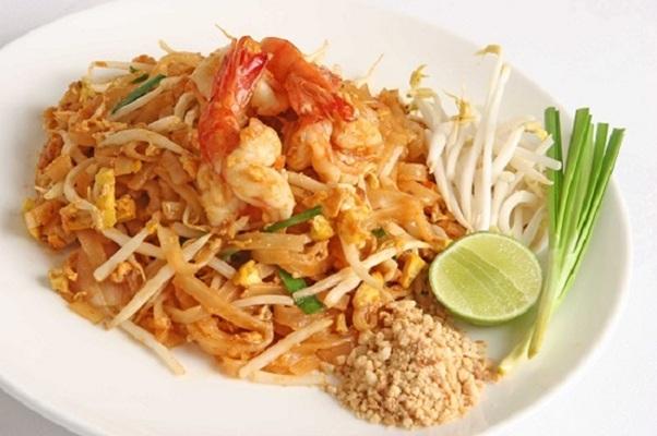 Sợi Pad Thái giống sợi phở ở Việt Nam