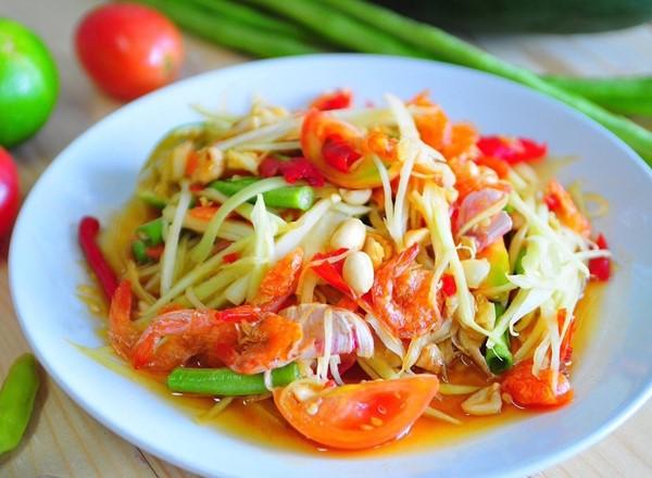 Không được bỏ qua gỏi Son Tam khi đi du lịch Thái Lan
