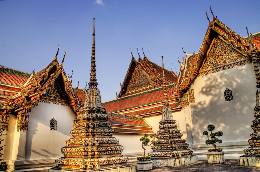 Chùa Wat Pho cũng thế