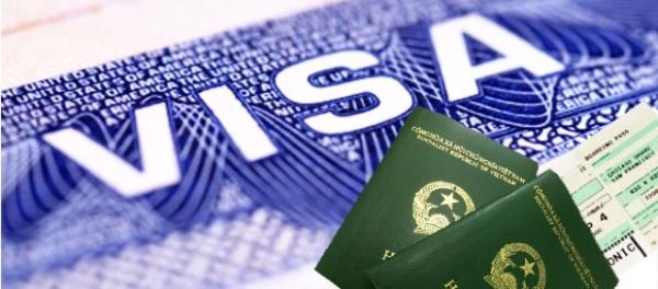 hộ chiếu đóng dấu visa