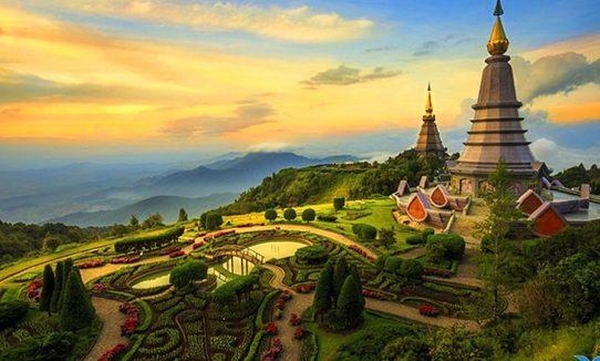 Thái Lan có rất nhiều điểm đến hấp dẫn