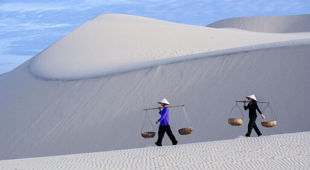 Đồi cát Mũi Né - Kinh nghiệm du lịch Mũi Né bằng xe máy