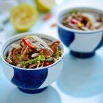 Thưởng thức món Salad bò từ Thái