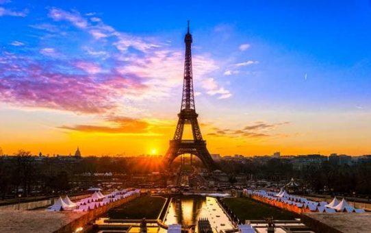 du lịch Pháp - Tháp Eiffel