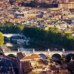 Thành cổ Rome tại Italy