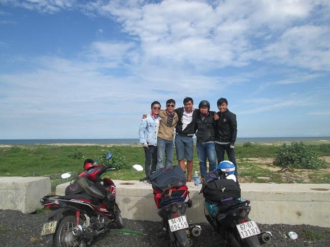 Di chuyển bằng xe máy thật thích thú những cảnh quan đi từ Cần Thơ – mũi Kê Gà Bình Thuận – Kinh nghiệm du lịch phượt mũi Kê Gà