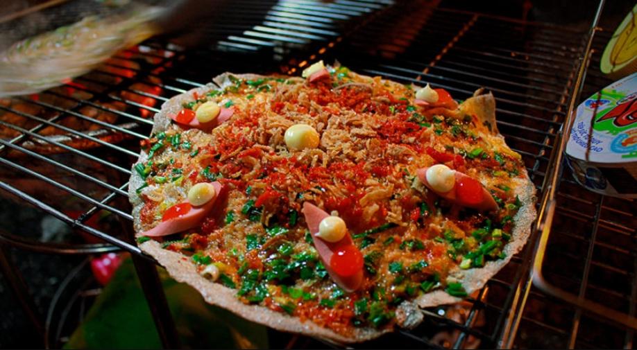 Bánh tráng nướng Đà Lạt - Du lịch Đà Lạt ăn gì ngon?