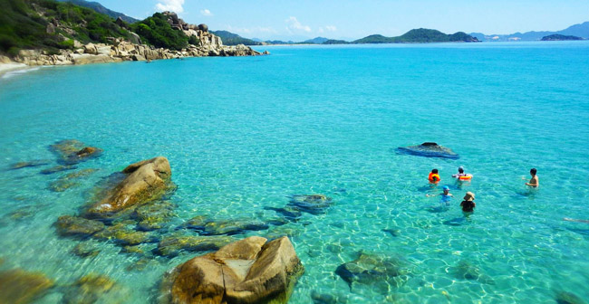 khám phá đảo Bình Hưng